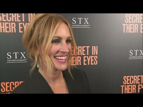 Julia Roberts praises Jennifer Lawrence at Secret In Their Eyes premiere in LA
