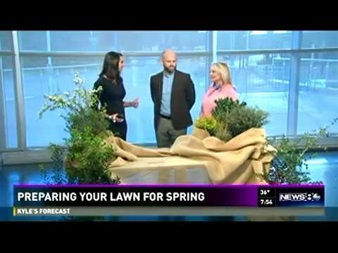 Preparing your lawn for spring wfaa channel 8 youtube for Preparing for spring