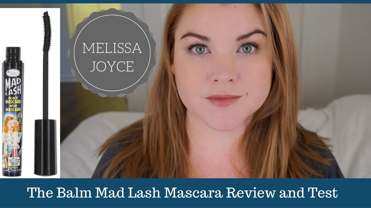 0610bb260da The Balm Mad Lash Review and Test - YouTube