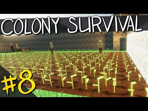 Colony Survival | PART 8 | FARMING FOR MYSELF