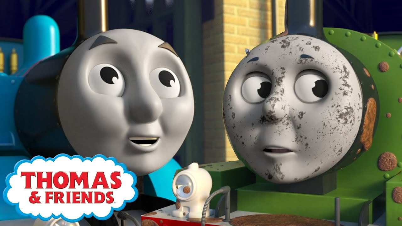 Thomas & Percy's Bedtime Routine | BRAND NEW | Learn with Thomas | Cartoons for Kids