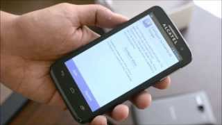 Alcatel One Touch X'Pop Unboxing