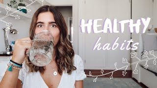 Healthy habits || daily for a life
