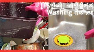 [설거지] 16번째 매일설거지  / Washing di…
