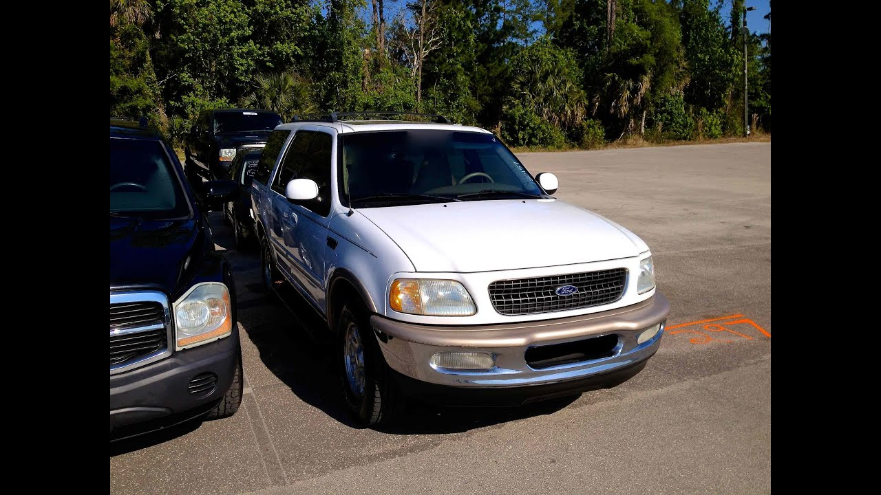 1998 Ford Expedition Eddie Bauer 2wd 5 4l V8 Start Up