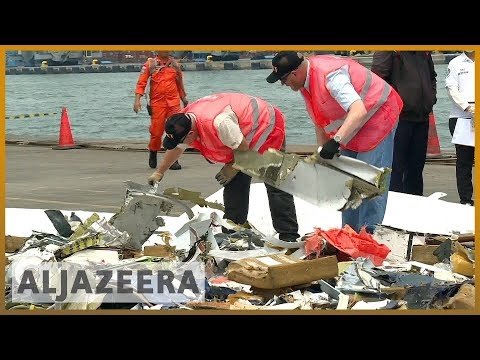🇮🇩 Divers recover crashed Lion Air's 'black box' from Indonesian sea   Al Jazeera English