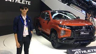 เจาะชุดแต่ง Mitsubishi Triton Athlete 2019 ใน Motor Expo 2019