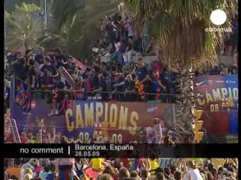 Barcelona heroes backhome