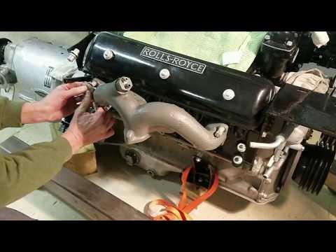 Engine Rebuild Silver Cloud 3 - Part 6 -Dist , Carb , Gen , Oil Filter