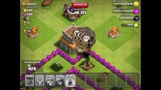 54 Balloon Attack!!!!! - Clash of Clans