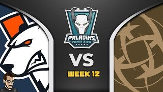 Super Match : PPL Week 12 - Virtus Pro Vs Ninjas In Pijamas (Paladins FR)