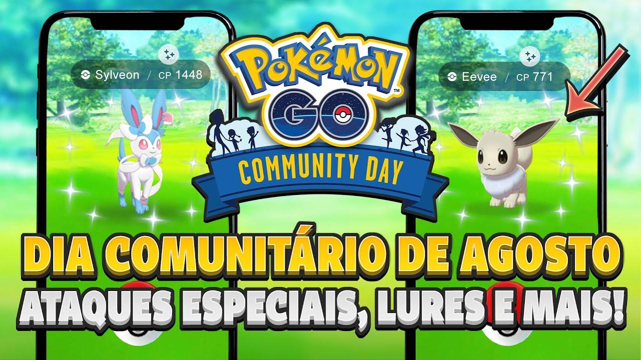 Dia da Comunidade de AGOSTO: Eevee, Ataques Especiais e mais! Saiba tudo! | Pokémon GO