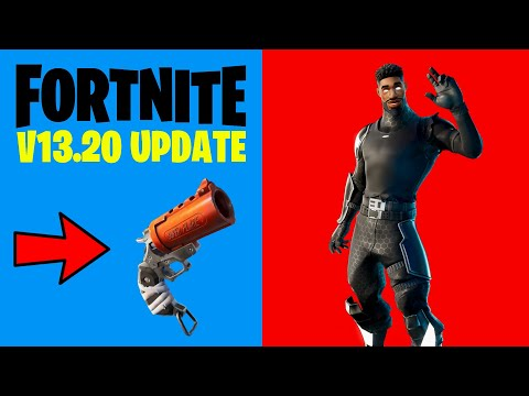 Fortnite V13.20 Patch Notes (NEW FORTNITE UPDATE TODAY)