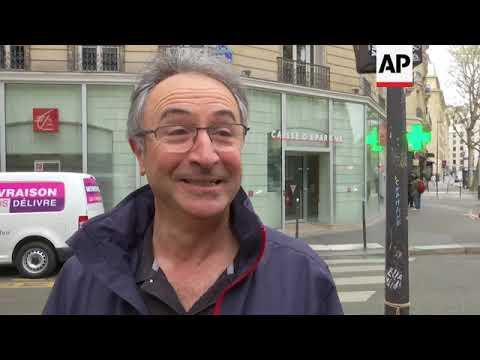 Reaction in Paris to military strikes on Syria