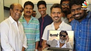 Shankar and Team '2.0' gives a Stunning opinion about 'Kabali' Teaser | Rajinikanth