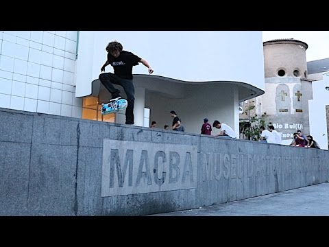 BARCELONA THE MECCA OF SKATEBOARDING!