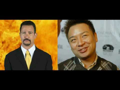 Jim Rome  with Rex Lee, Lloyd from Entourage