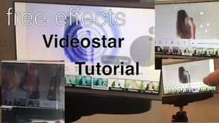 Free Videostar effects - tutorial