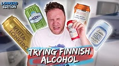 TRYING FINNISH ALCOHOL: LONKERO EDITION | Taste Test Tuesday