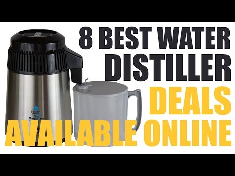 8 Best Water Distiller Deals Available Online