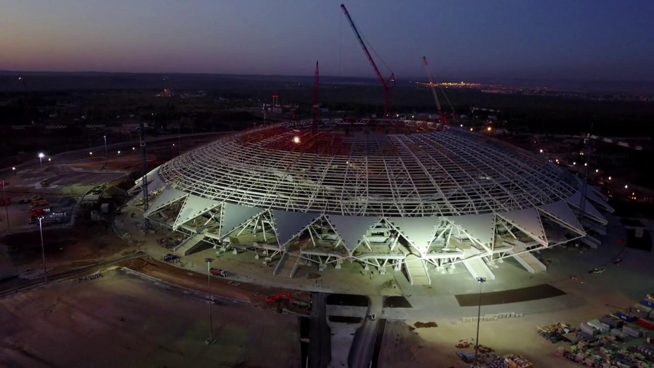 Строительство стадиона #Cамара Арена / 17.07.2017 #Samara #Russia .