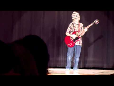 12 year old plays Panama for 2012 Talent Show