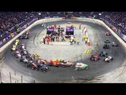TQ midget racing from the Times Union Center in Albany, New York