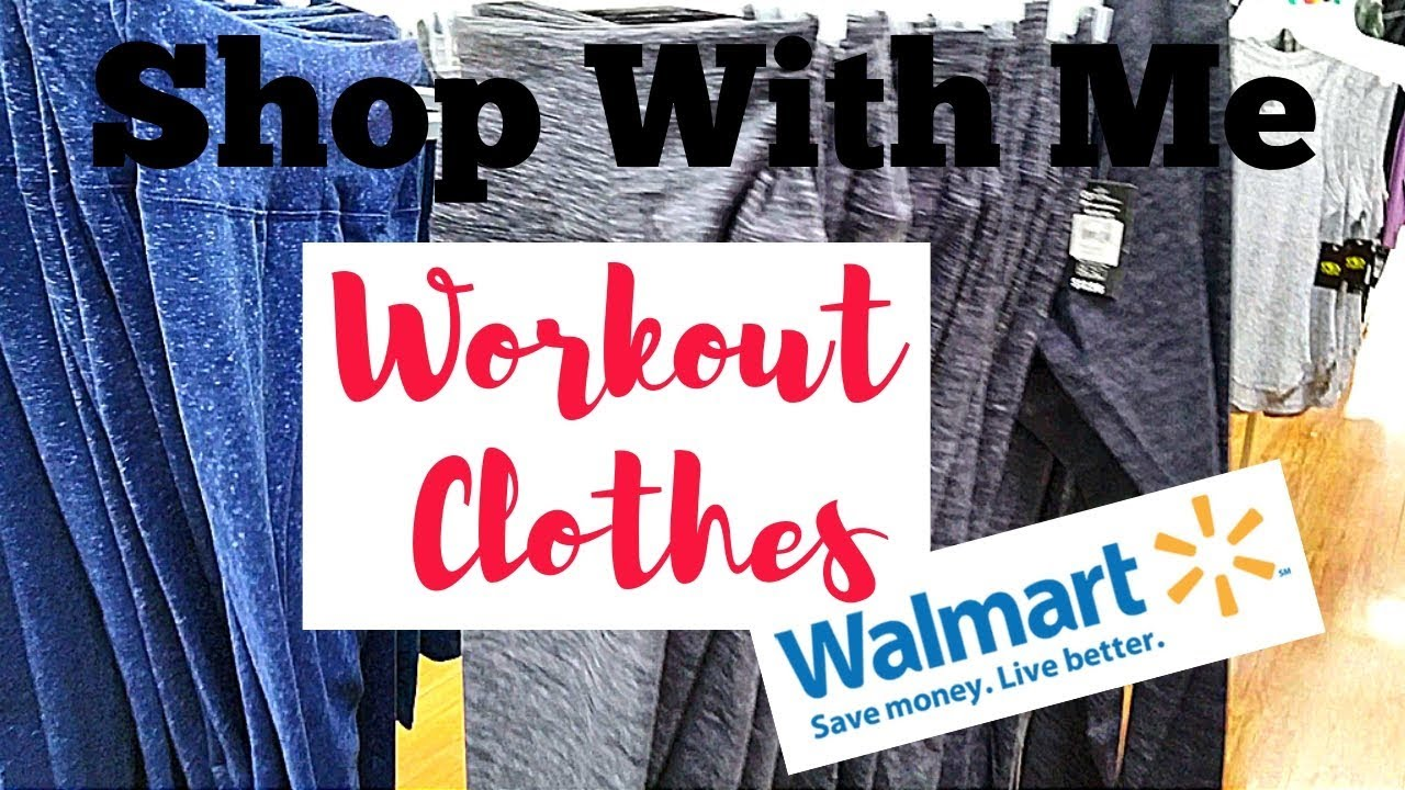 59529c0df5a Walmart   Workout Clothes   Shop With Me - YouTube