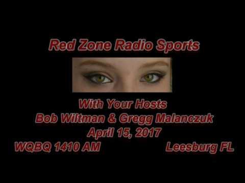 Red Zone Radio Sports April 14 2017 WQBQ 1410 AM