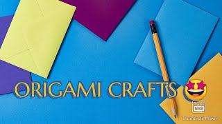 5 COOL PAPER CRAFTS YOU SHOULD TRY TO DO in Quarantine AT HOME-Origami Hacks
