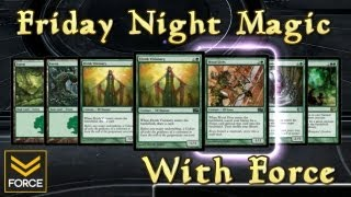 FNM with Force - Natural Order is OP (MTG Duels 2013 Multiplayer)