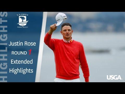 2019 U.S. Open, Round 1: Justin Rose's 6-Under 65
