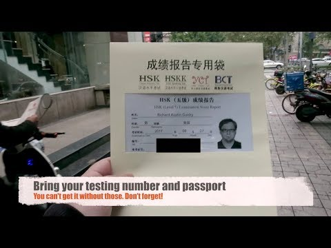 NAILED IT! Getting my HSK Certificate | Chinese Proficiency