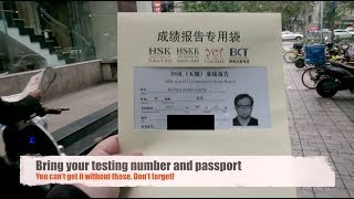 NAILED IT! Getting my HSK Certificate | Chinese Proficiency Exam | Chengdu Vlog | HSK Exam