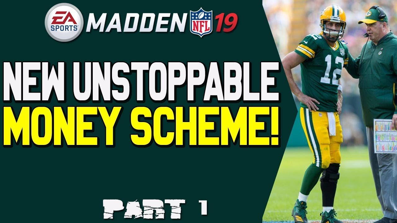 New Unstoppable Money Scheme In Madden 19!! Tips And Strategies