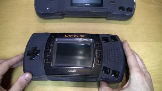 ATARI LYNX (MODEL 1+2) TEIL 1 - ein Review vom RETRO GAMBLER