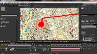 Trazado de ruta con seguimiento de cámara en After effects Thumbnail
