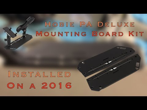 Hobie PA Deluxe Mounting Board Install (Found On 2018 PAs)