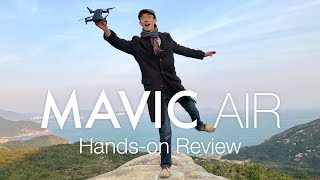 DJI Mavic Air Hands-on Review WITH RANGE TEST [4K]