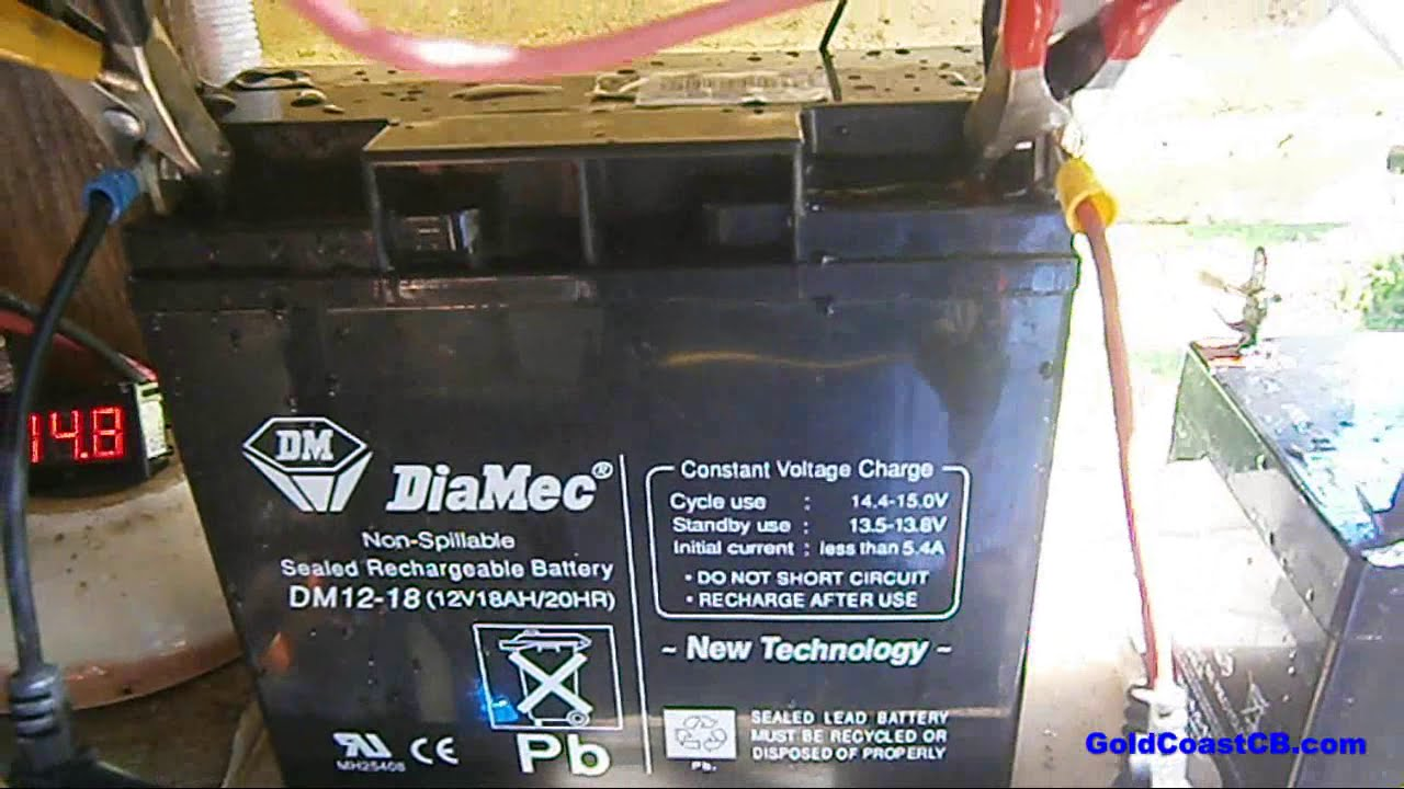 Sealed Lead Acid Battery Recovery Tips Youtube Fast Charger For Better Life