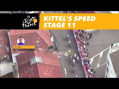 Kittel's speed - Stage 11 - Tour de France 2017
