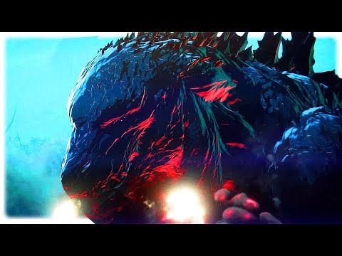 GODZILLA: MONSTER PLANET Trailer (2017) Netflix Anime Movie HD