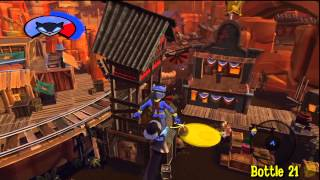 Sly Cooper Thieves in Time: Episode 2 - Cotton Mouth Bluff -  All 30 Bottles - HTG