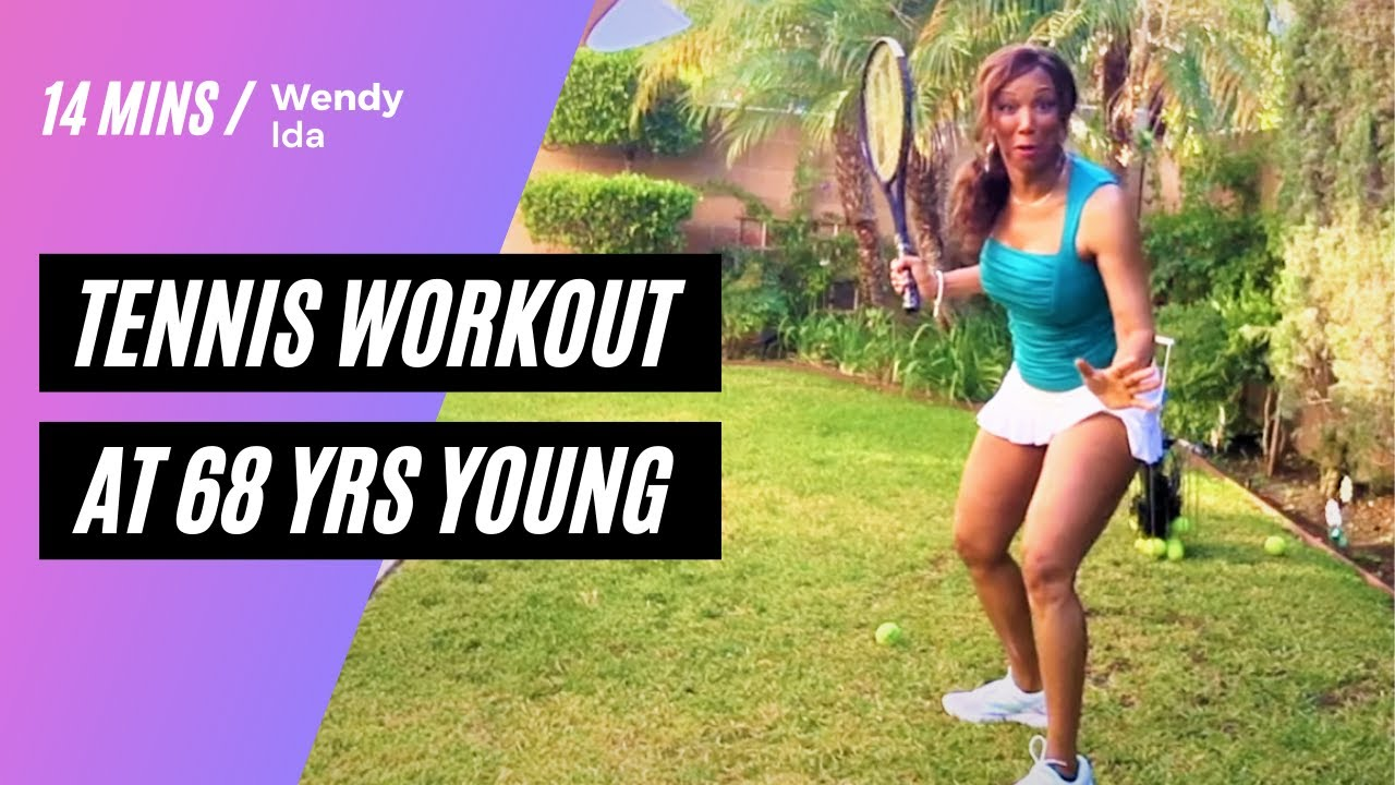 Tennis Workout at 68 yrs young