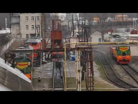 Станция Керчь.7 марта отправление первого РА 2.Керчь-Анапа