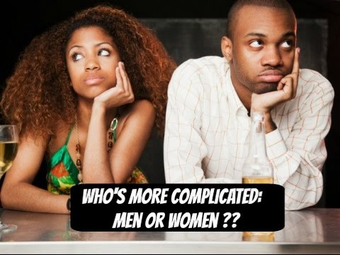 who more complicated males or females