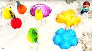 Kinderfilm - Wir legen einen Garten an - Die Planierraupe hilft uns dabei