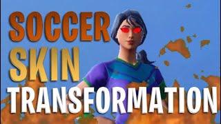 Embrace your inner TryHard - Soccer Skin Transformation | Fortnite