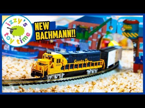 Toy Trains for Kids! BACHMANN THUNDER VALLEY N SCALE!