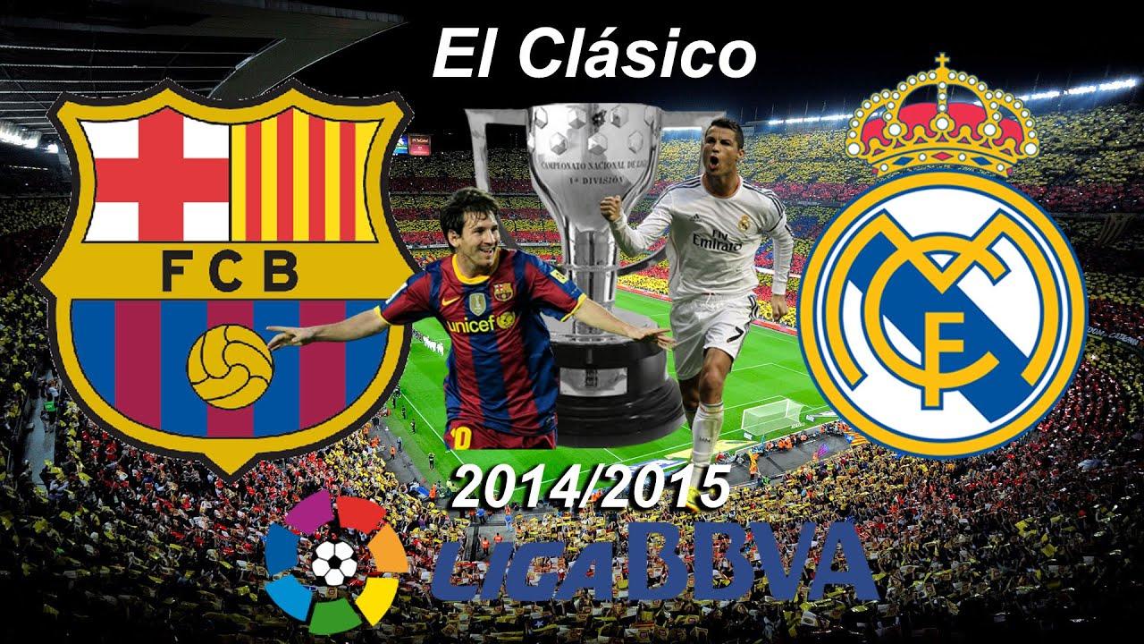 Fifa 15 La Liga BBVA 2014/2015 'El Clásico' FC Barcelona ...